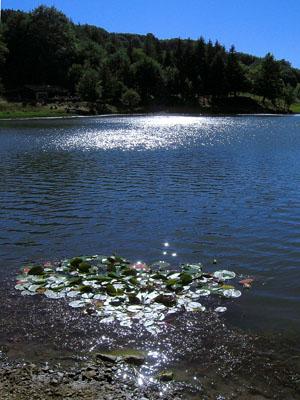 Parco del Gigante、 Ventasso湖 エミリア・ロマーニャ